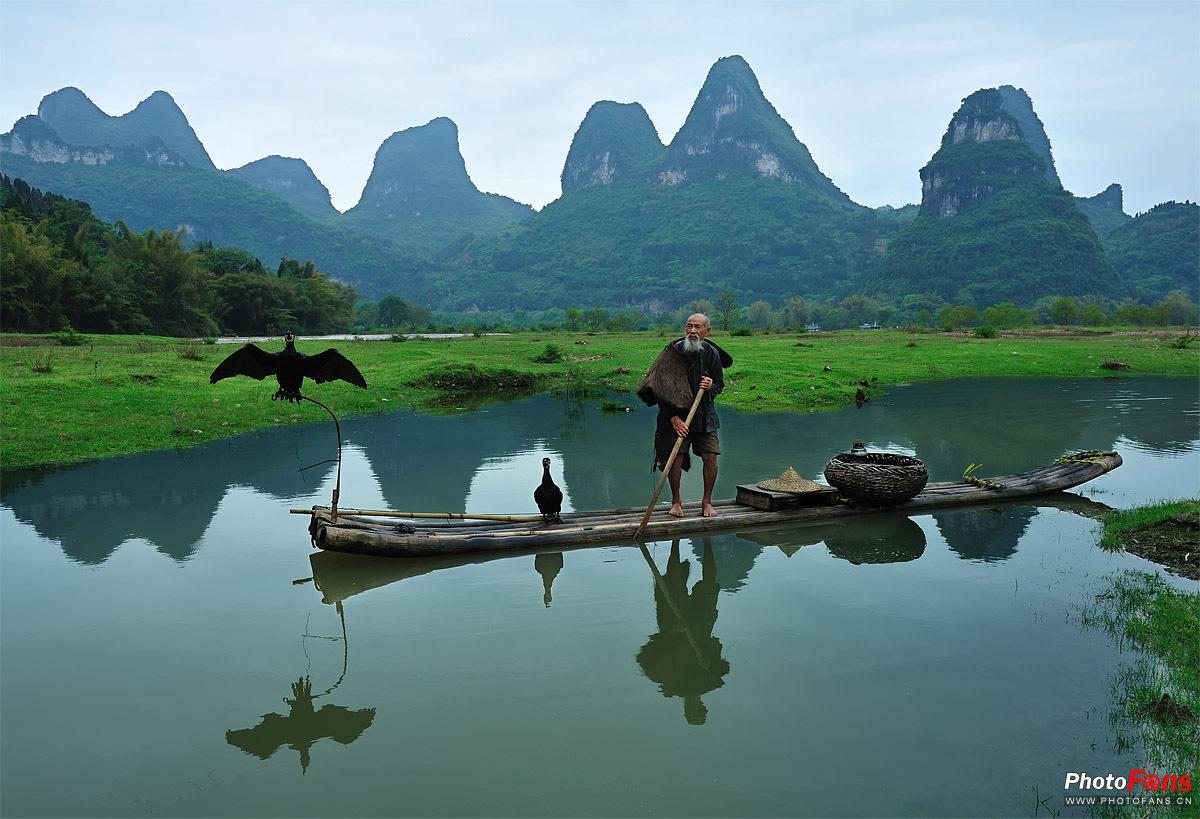 桂林山水甲天下!